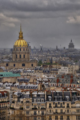 Les Invalides seen from Eiffel (jssutt) Tags: paris france photoshop eiffeltower hdr lesinvalides louisxiv photomatix 7tharrondissement napoleonbonaparte libralbruant jssutt jeffsuttlemyre thedomechurch
