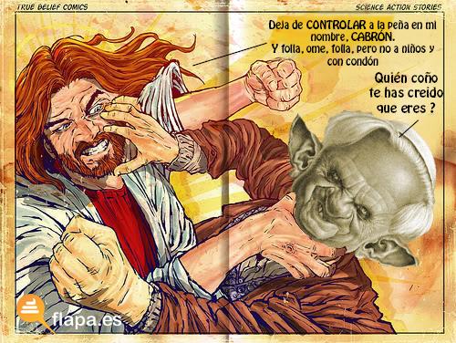 jesus vs papa