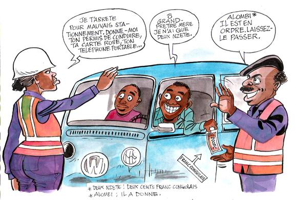 Nouveaux truands dans les rues de Kinshasa