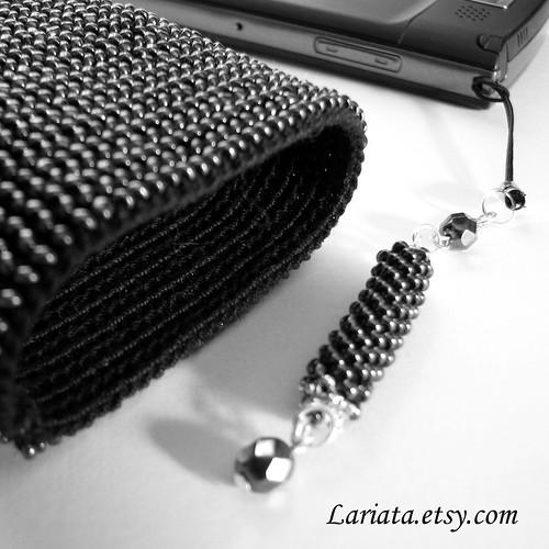 cell phone crochet bag