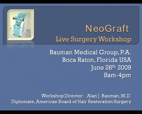 neograft workshop 6-26-09