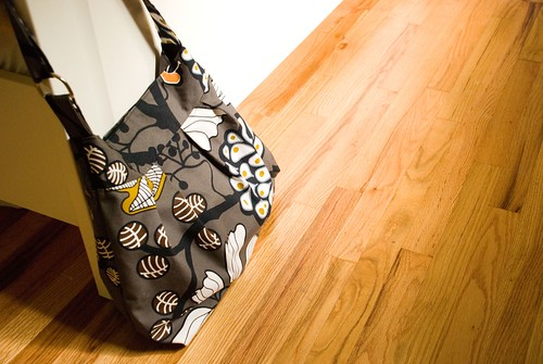 new diaper bag in ikea fabric