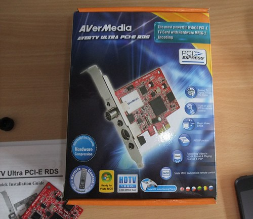 Aver Media: Aver TV Ultra PCI E RDS TV tuneris