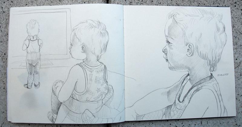 Sketchbook, 20x20cm