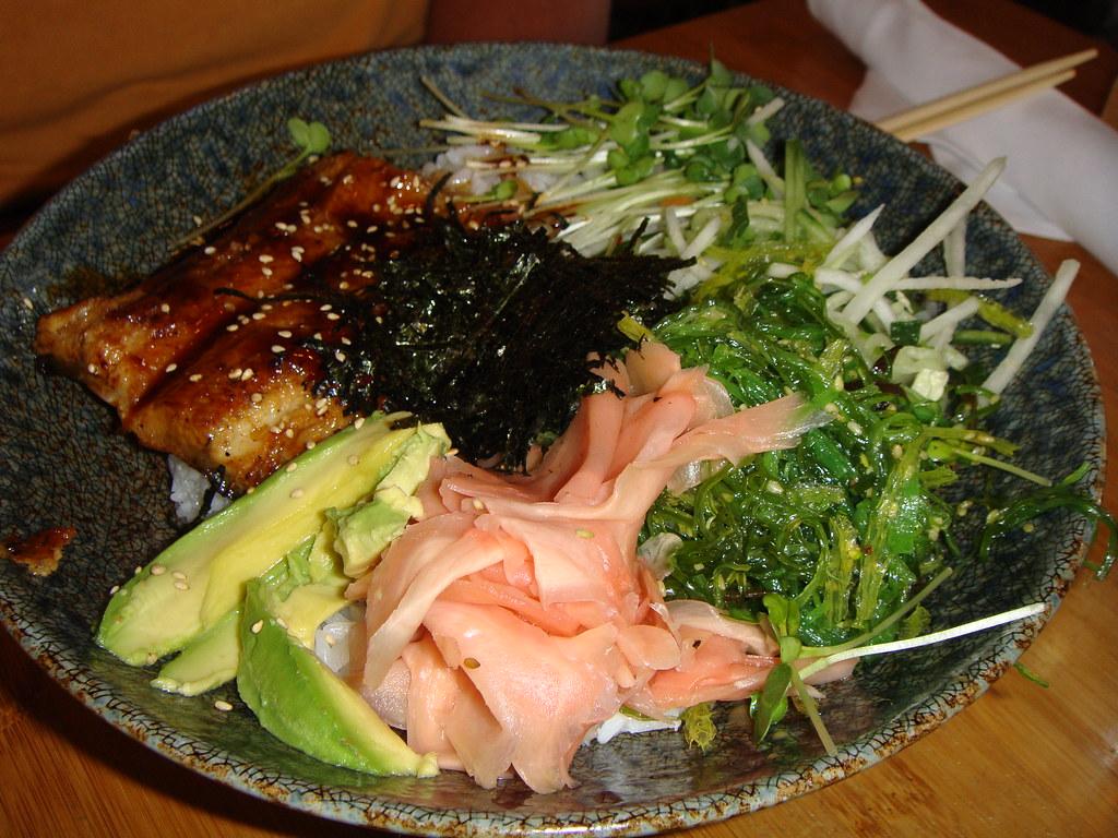 BBQ Unagi Wasabi Bowl