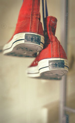 (Aih.) Tags: old red star shoes all converse allstar redconverse oldconverse redoldconverse