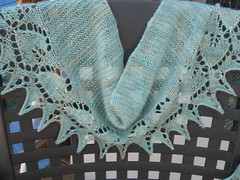 heart to heart beaded scarf
