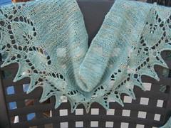 heart to heart beaded scarf
