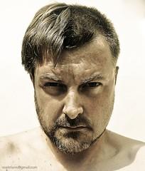 Before and After (Voetmann) Tags: selfportrait me ego hair beard sp shaving canon5d beforeafter nops selfie 2470l28 selvportrt canond wintersummer opscott