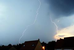 Dual Light storm (J-oris) Tags: light storm paris lights storms joris eclair orage orages parisienne région banlieu éclair lightstorm ouragan éclairs 95520 95000 osny