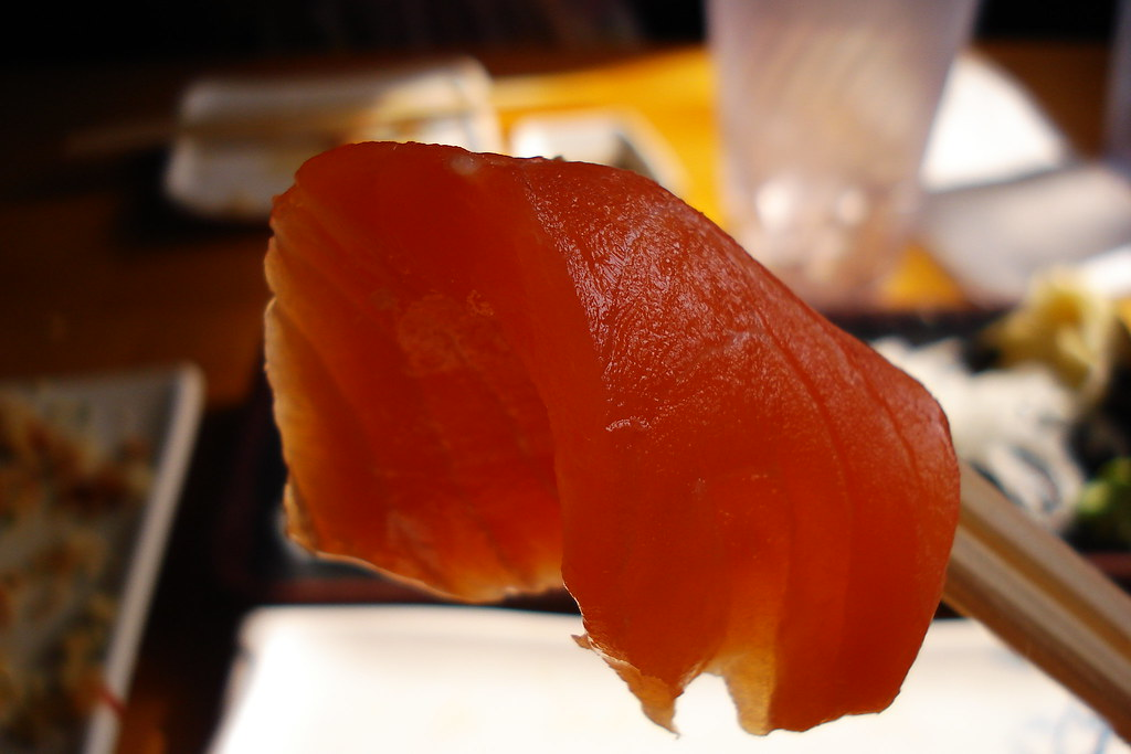 salmon close up
