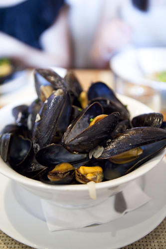 A heaping bowl of mussels, 2