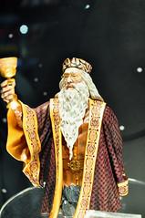 Dumbledore makes a toast (Bruce Levenstein) Tags: statue beard toy sandiego wizard magic harrypotter collectible professor comiccon goblet sdcc dumbledore gentlegiant albusdumbledore sigma30mmf14 michaelgambon sdcc09 sdcc2009
