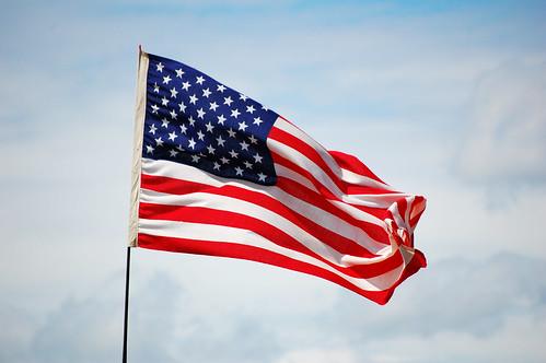 USA Flag Flutter