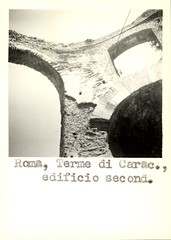 38V.E.Ph (Roma) (KNIR Image Collection) Tags: bw italy rome roma photo essen ancient baths archival lazio caracalla knir vanessen 19501970