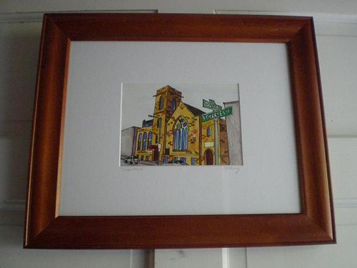 Grace Church - framed