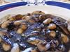 Detalle de las Fabas con Calamares