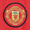 Manchester United 1996-98 home shirt badge