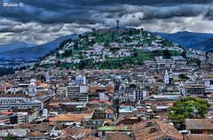 El Panecillo - Quito (Bernai Velarde Photography ) Tags: mountains monument clouds america quito ecuador rooftops monumento south el virgin nubes sur virgen montaas techos panecillo velarde bernai