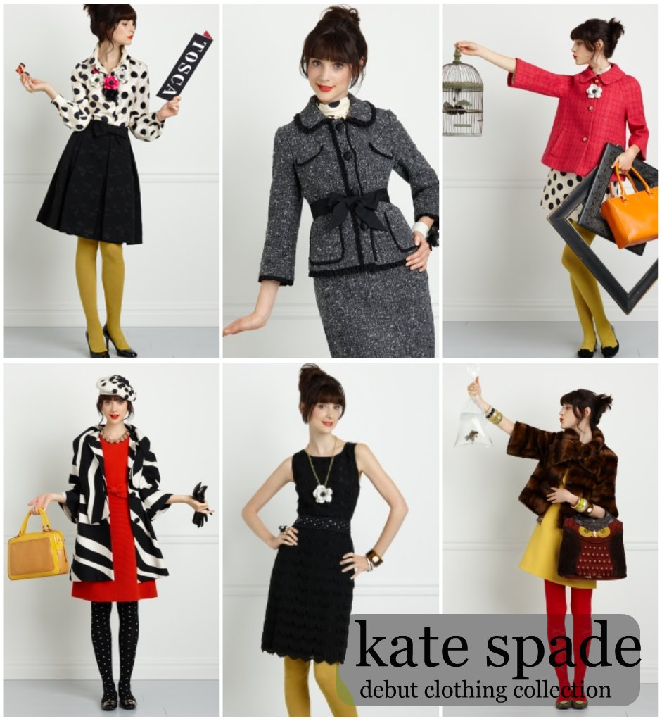 kate spade debut clothing collection