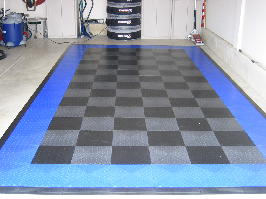 Used garage floor tiles