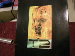 Box Top T2 Endo Skull (luvsdaheat) Tags: model vinyl kit terminator t2 the endoskeleton endoskull