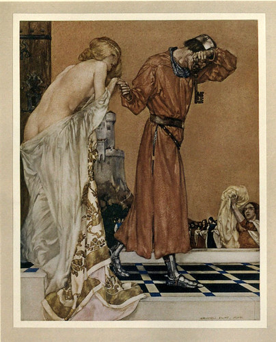022 -Le morte Darthur 1921- William Russell Flint