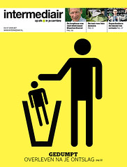 coverdesign Intermediair magazine (jaap!) Tags: art illustration design direction cover jaap unemployment biemans sacked directie