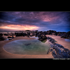 Oh, Hello! To what do I owe the pleasure? (J.P.Robertson) Tags: morning wet water sunrise canon reflections dawn angle harbour wide sigma newsouthwales 1020mm ultra coffs sawtell austalia 40d bestofmothernature