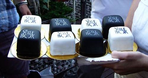 The Style Box cupcakes by Cake or Death