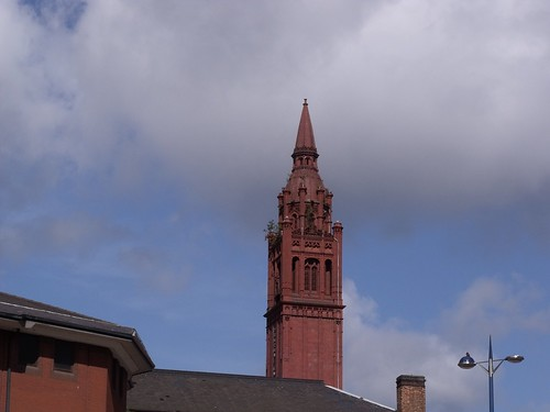 Methodist Central Hall - Tower above the Birmingham Crown Court