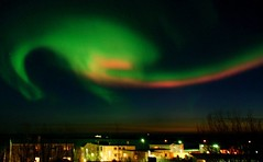 New Crop - Old Photo  - Aurora Borealis From my Balcony at sunset (SigHolm - Very Busy) Tags: island lights iceland islandia best aurora 500views northern sland northernlights auroraborealis bestofthebest borealis islande icelandic islanda naturesfinest islndia seltjarnarnes mybalcony blueribbonwinner ijsland norurljs islanti slenskur  slendingar   anawesomeshot  slenskt platinumheartaward absolutelystunningscapes         greatshotss sailsevenseas