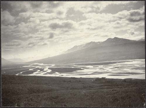 River above Eyjafjörður.