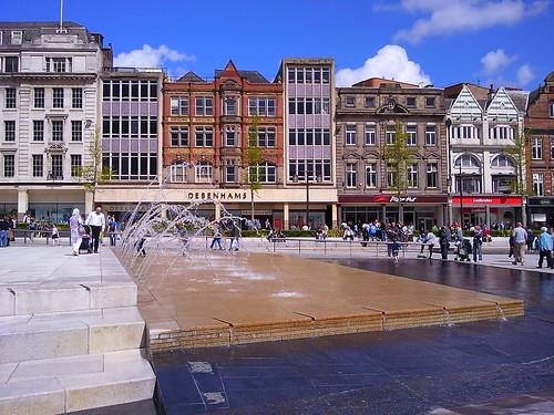 Old Market Square Nottingham