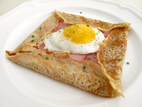 how to make savory crepes french website