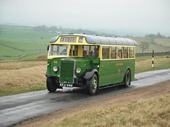 EFJ 666 1938  Leyland Tiger TS8/Cravens  Exeter Corporation 66  Kirkby Stephen Road Run (wheelsnwings2007/Mike) Tags: road easter tiger 1938 rally 666 run 66 stephen corporation exeter valley eden leyland kirkby 2011 efj ts8cravens