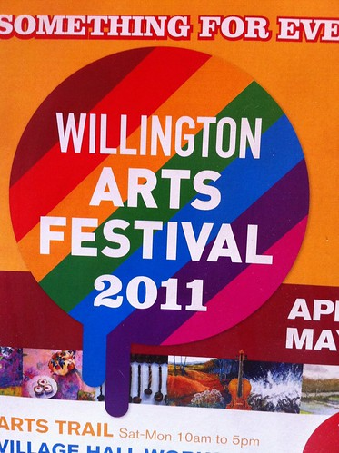 Willington Arts Festival Poster by thedropinn