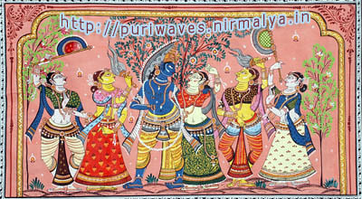 Pattachitra, art of Raghurajpur, Puri