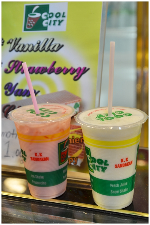 Fruit Shakes @ Cool City, Sabah