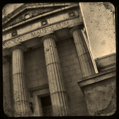 fairmount 1 ttv (bob merco) Tags: cemetery vintage grunge dirty mausoleum aged fairmount duaflex ttv throughtheviewfinder supermerc81 bobmerco lonesomelizardfilms ttvgrouppoolhasan8grouplimitsorry bobmercogliano