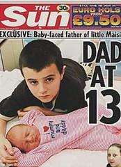 nino británico padre a los 13 años ¡HASTA CUANDO!