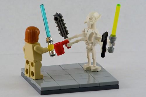 star wars obi wan vs general grievous