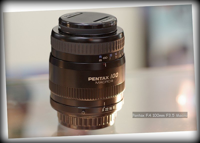 Pentax FA 100mm F3.5 Macro