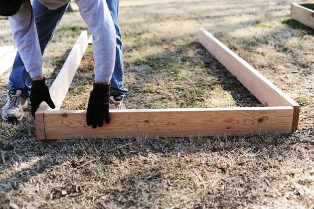 raised bed tutorial