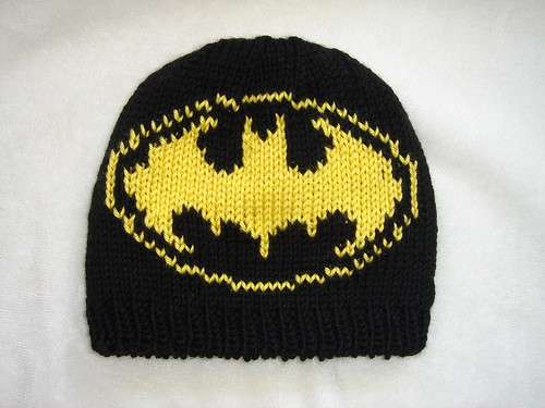 Knitting Pattern Batman Scarf : Crafty Cathy