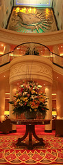 QM2 Lobby (timsauder) Tags: cruise flowers ship awesome main mary large queen lobby ii huge bouquet ornate queenmaryii oceanliner qmii mainlobby timsauder