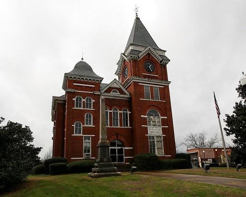 Court House, Talbot County, GA