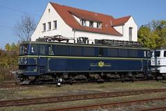 WAB 51  ex DR 242 157 (p.seiferth) Tags: railroad electric germany deutschland weimar dr railways wab railroads holzroller br242