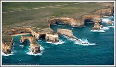 Great ocean rocks... (Upali - උපාලි) Tags: ocean road sea zeiss geotagged rocks view sony great aerialview aerial formation 350 carl alpha greatoceanroad 169 sal rockformation a350 sonyalpha 1680mm variosonnar16803545za 1680z geo:lat=38653276 geo:lon=143069029