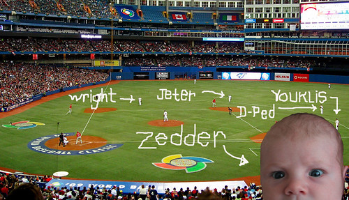 Zo labeled infield WBC